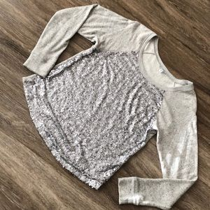 Sequin sweatshirt/sweater